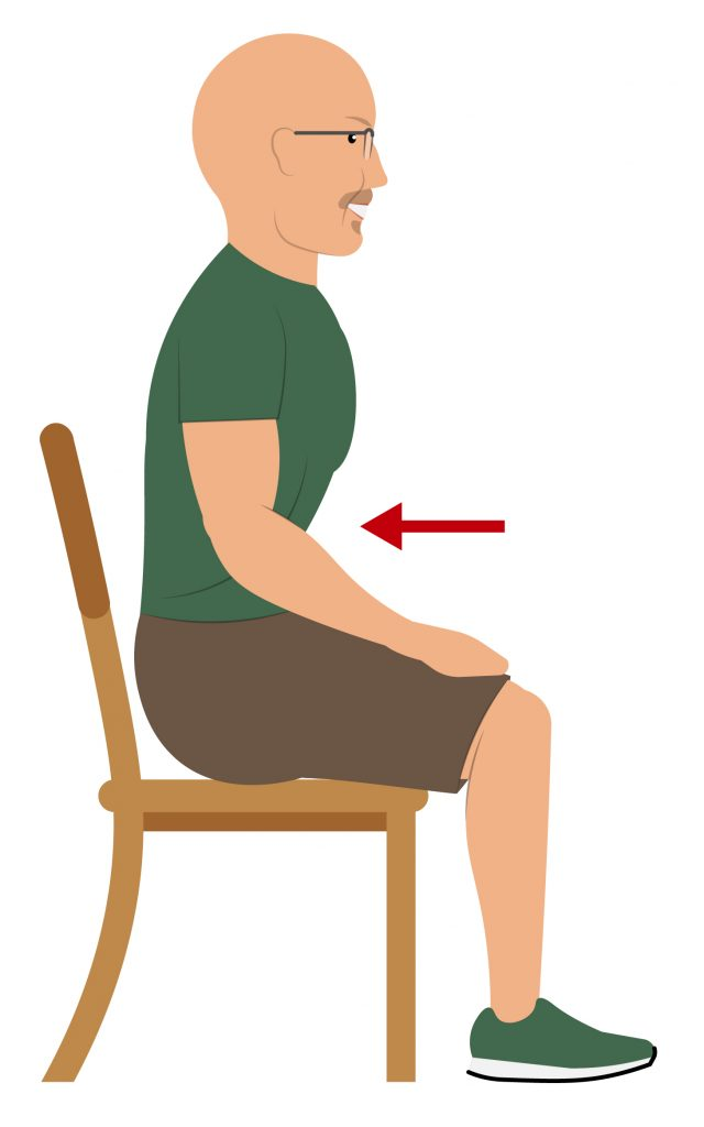 7 Easy Chair Stretches To Realign Your Spine & Relieve Low Back Pain - Coach Todd Kuslikis Feel Good Life