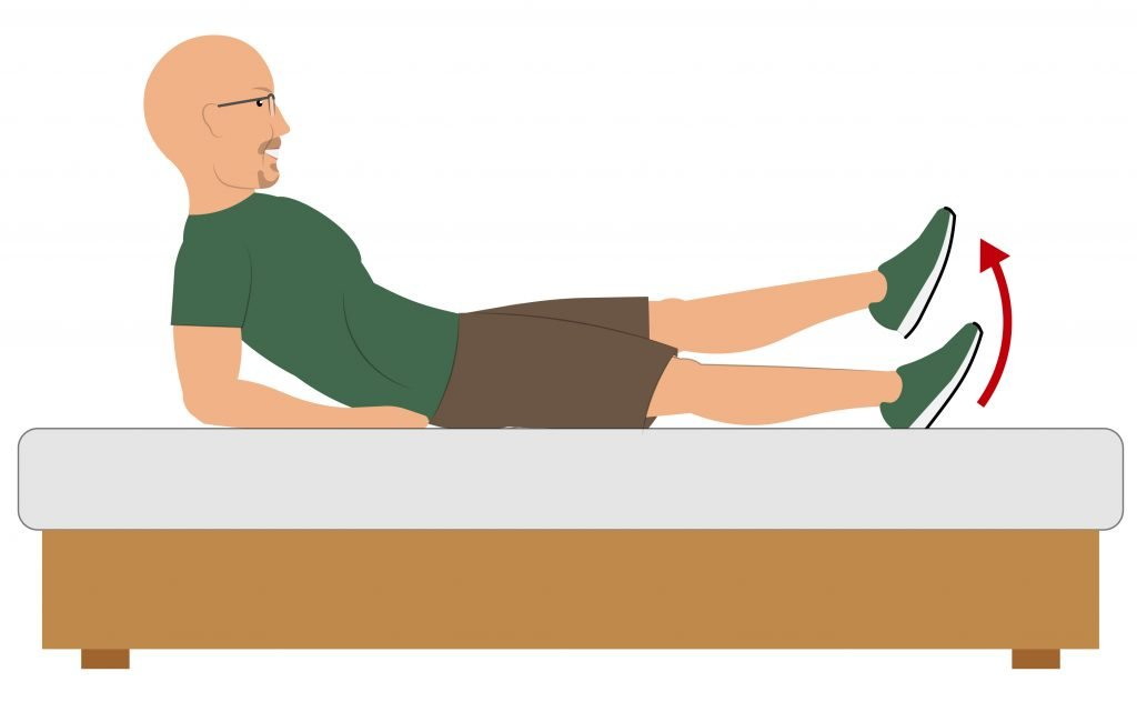 Feel Good Life - Knee Exercises From Bed