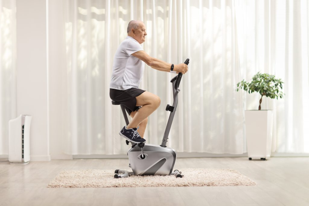How To Use A Stationary Bike To Reduce Knee Pain | Feel Good Life with Coach Todd