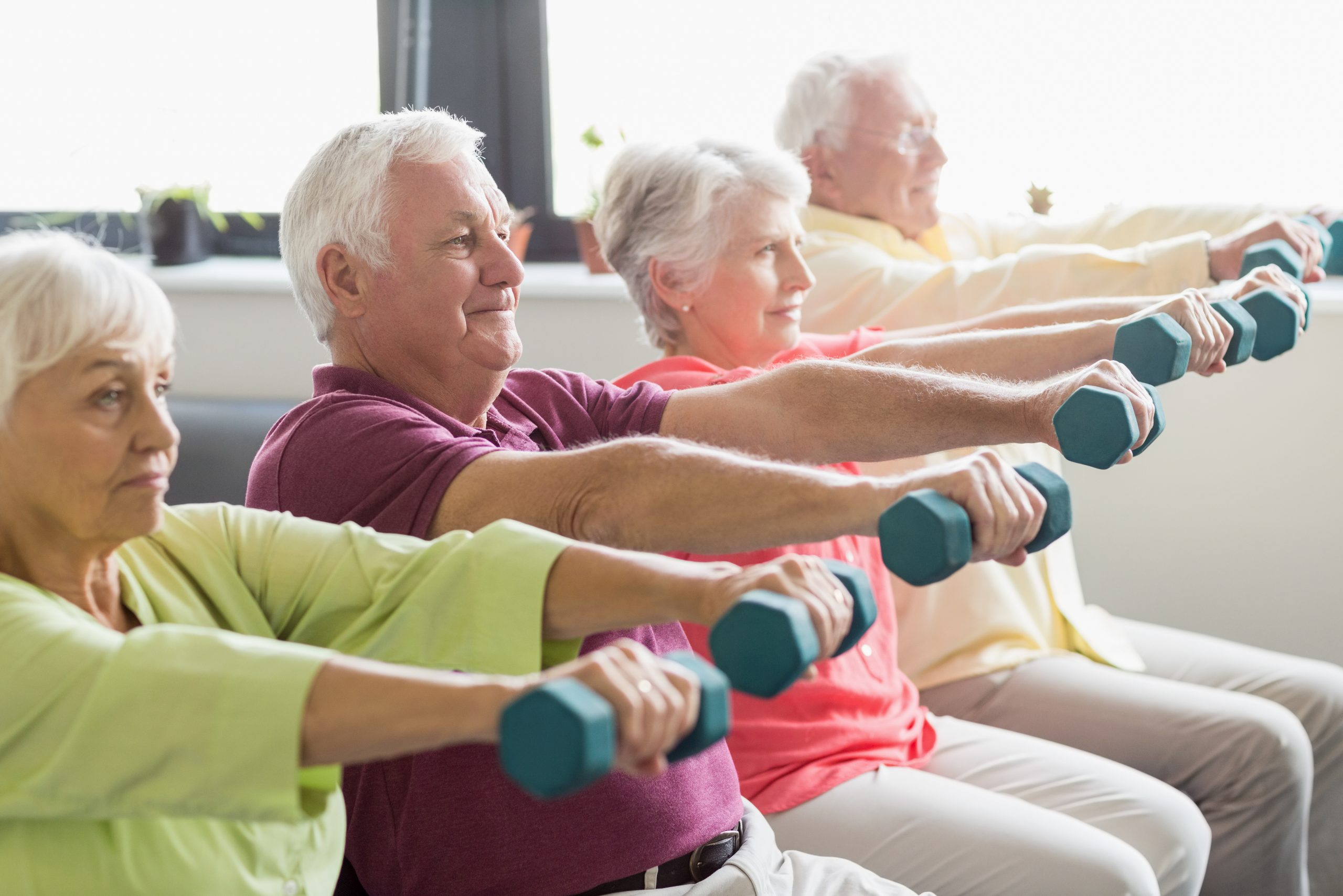 Senior Strength: 5-Minute Chair Workout to Tone Your Muscles
