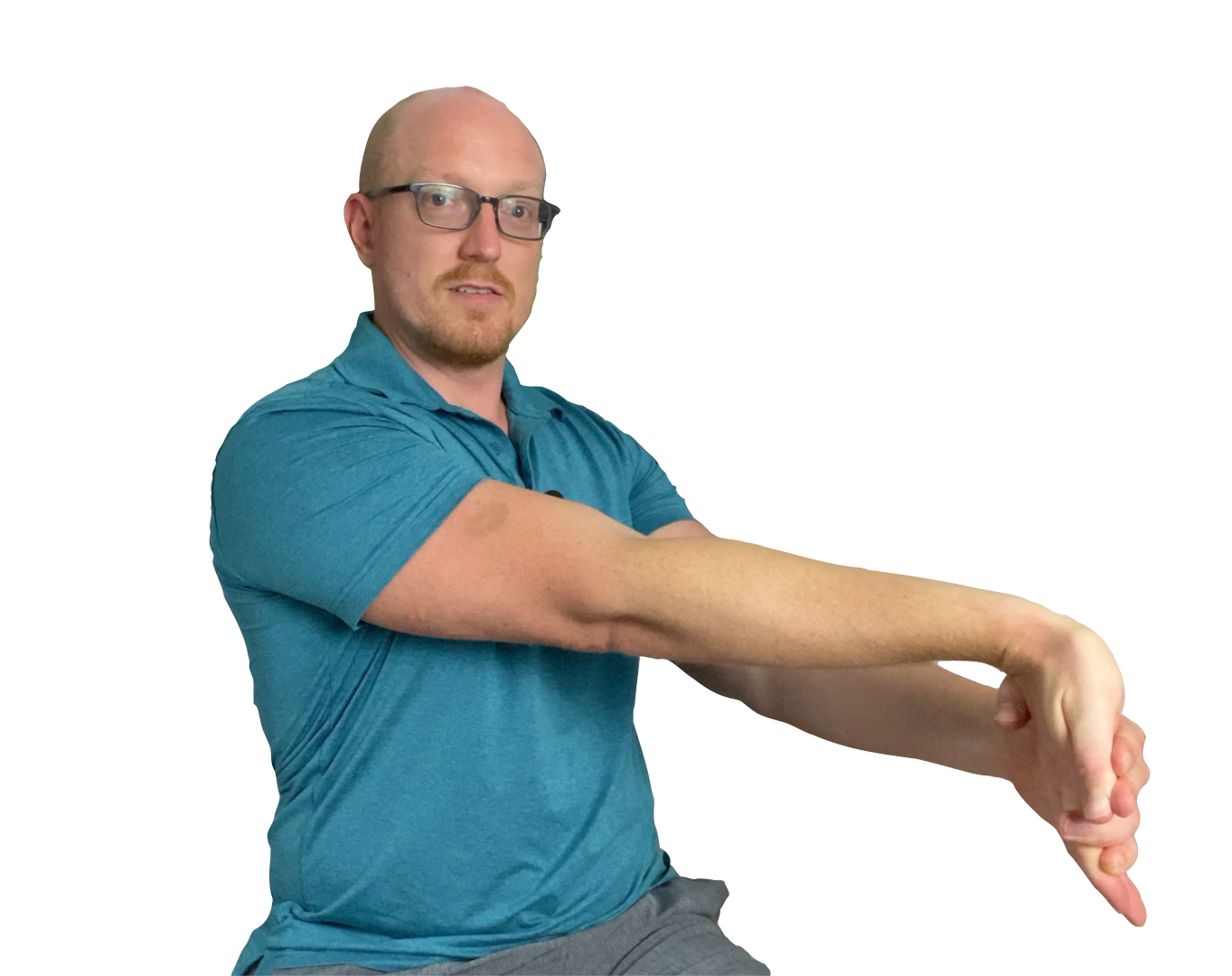 Wrist Extension Stretch for Carpal Tunnel Syndrome